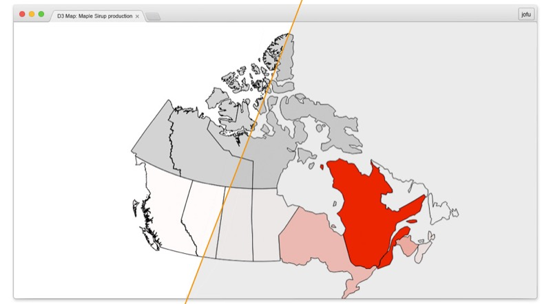 Writing maps heres the raw canadajson 19mb and thats the reduced one 51kb the topojson file in this case would have a size of 15kb gumiabroncs Choice Image